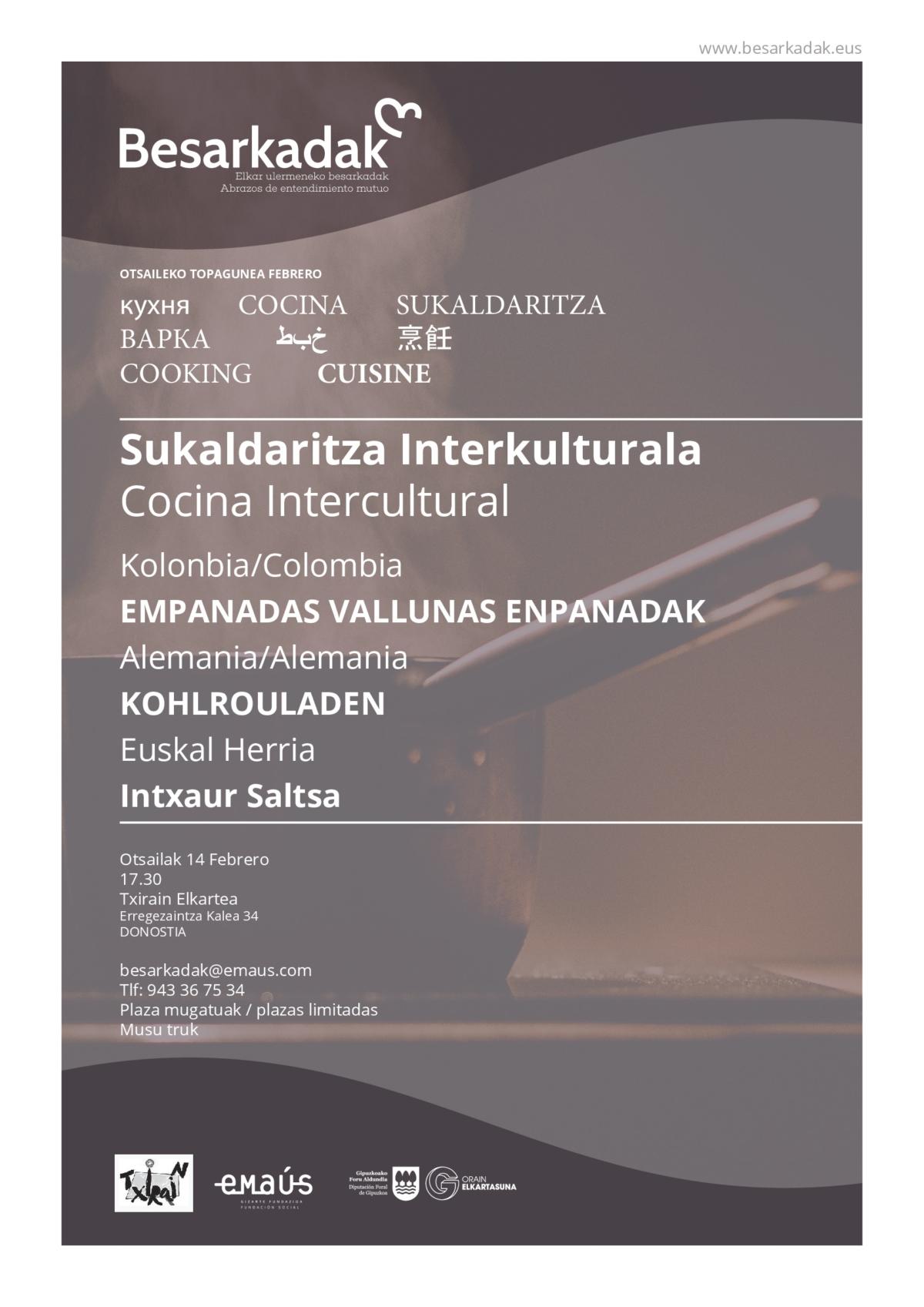 TOPAGUNE BESARKADAK DE COCINA INTERCULTURAL III-001