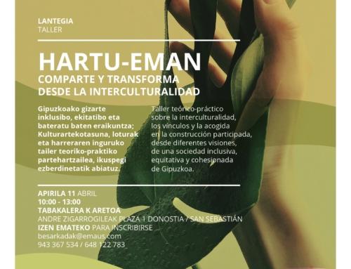 TALLER BESARKADAK: HARTU-EMAN, COMPARTE Y TRANSFORMA DESDE LA INTERCULTURALIDAD