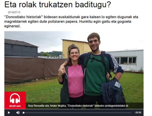 BESARKADAK EN EUSKADI IRRATIA