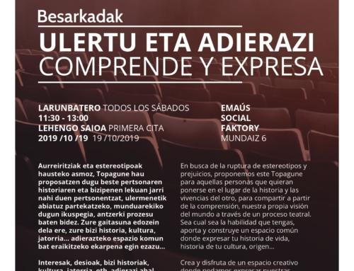 TOPAGUNE BESARKADAK, COMPRENDE Y EXPRESA