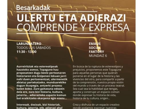 COMPRENDE Y EXPRESA… TOPAGUNE DE TEATRO